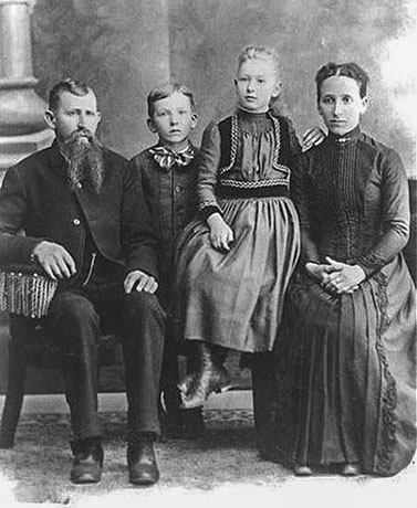 Alfred Jacob Hill Family