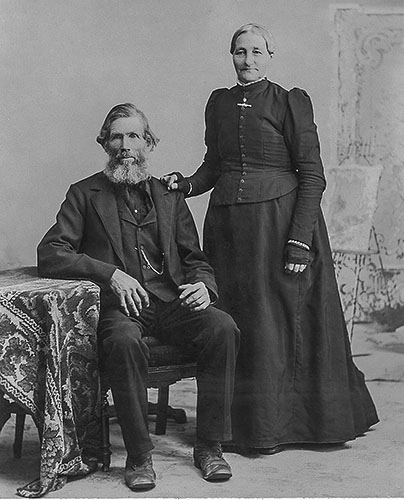 Claus Kahrs and Anna Marie Dierks