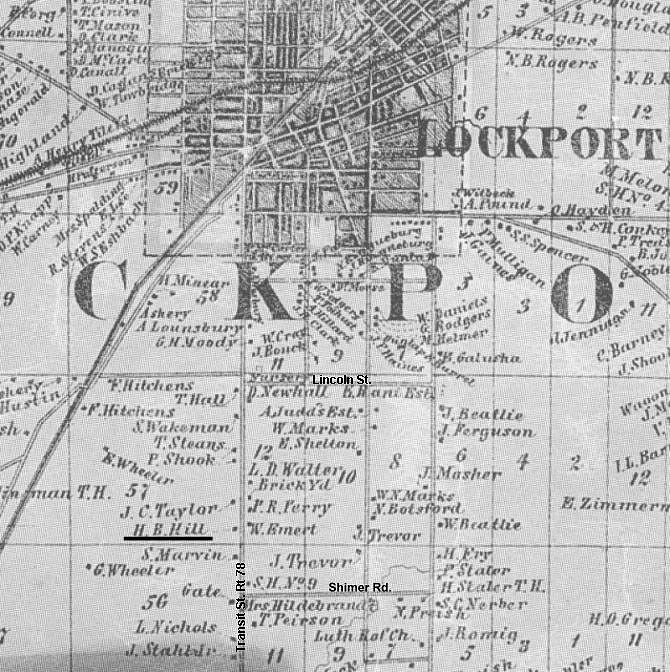 Map - Lockport NY